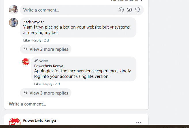 powerbets customer support