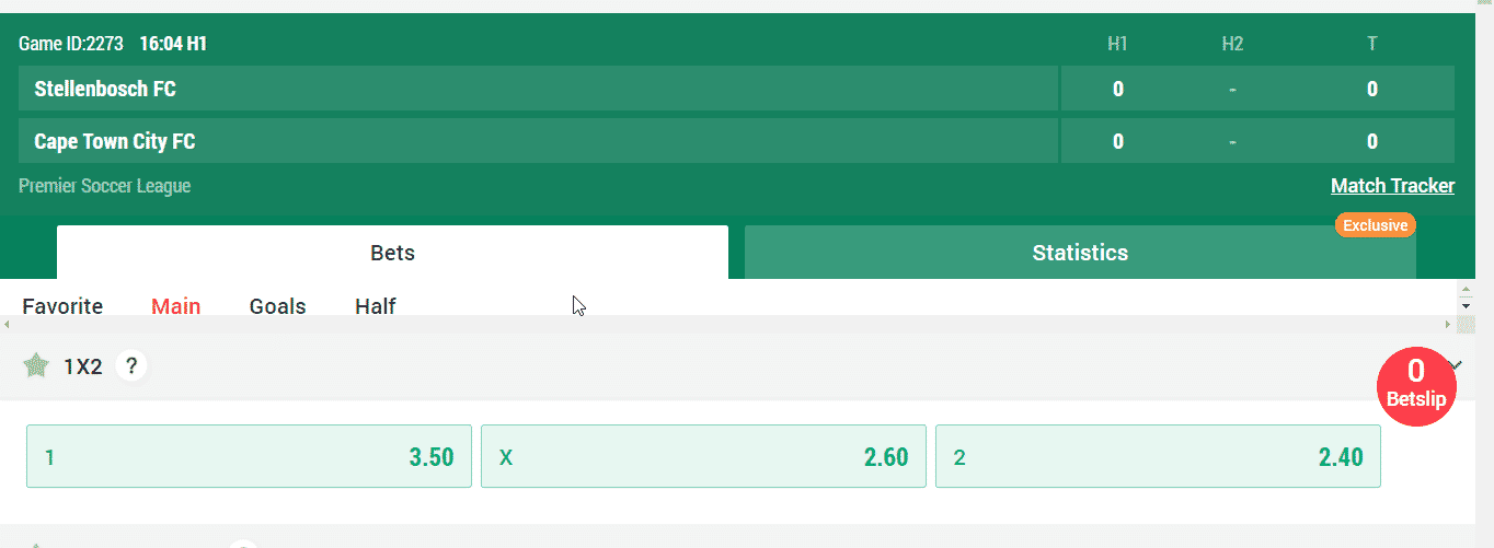 powerbets odds 1x2