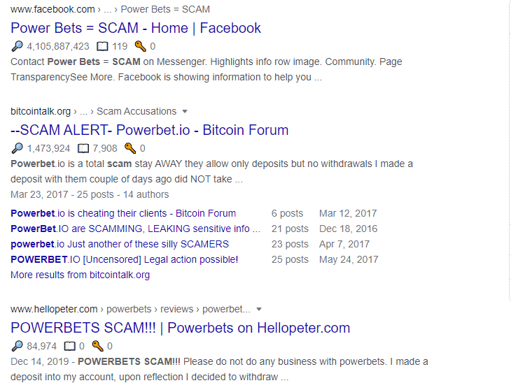 scam google powerbet