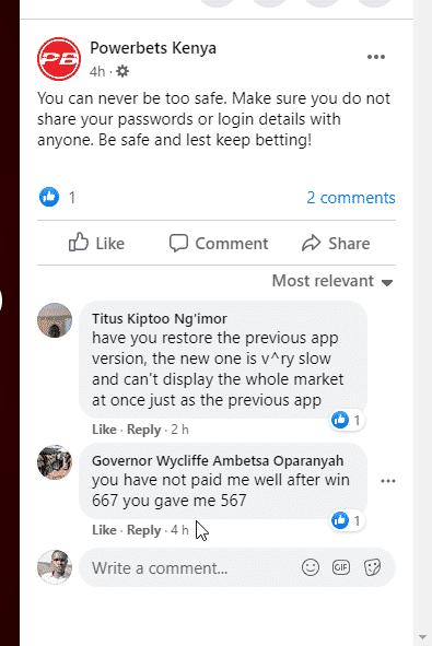 powerbets comments
