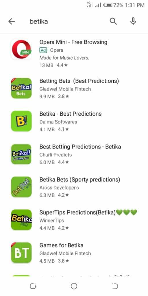 predictions apps