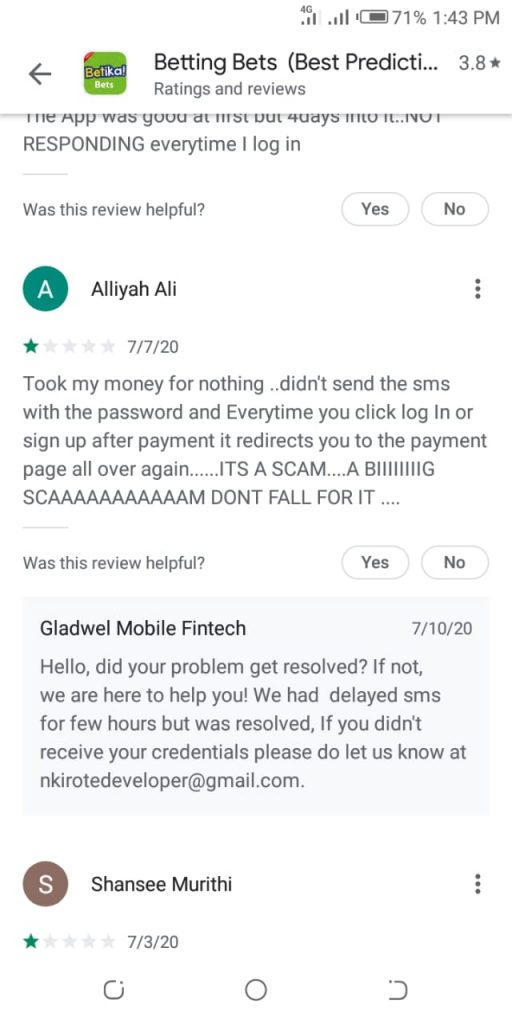 Alliyah Ali  tipster