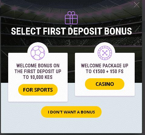 HelaBet First deposit welcome offer