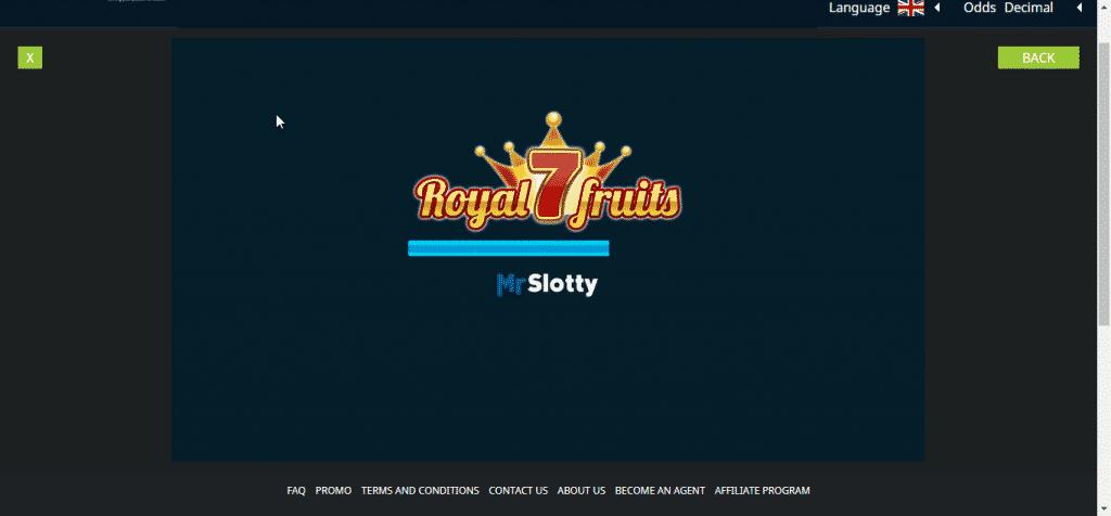 Hamabet Mr Slotty games