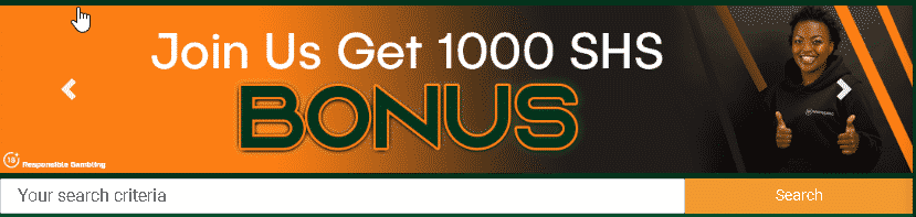 Scorepesa welcome bonus banner