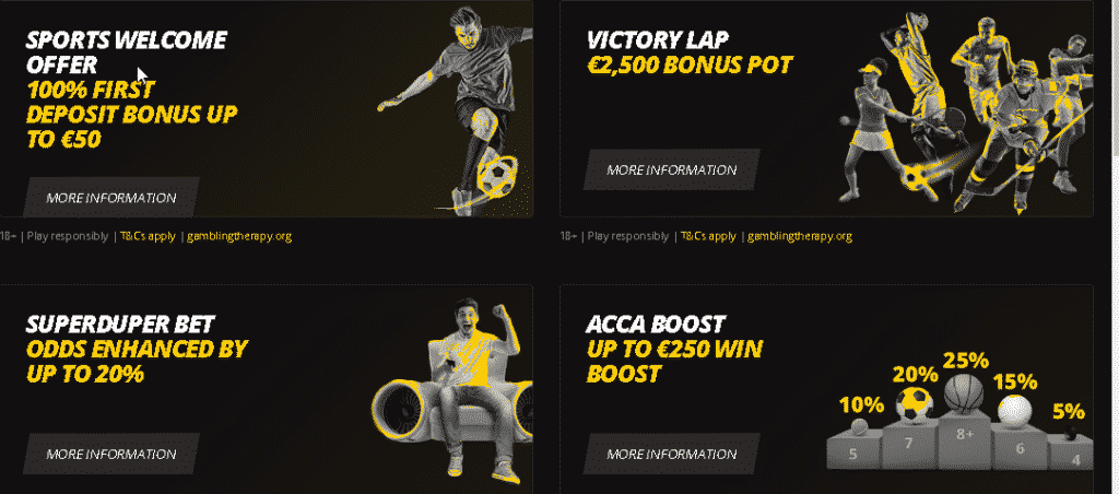 LVBet Sport promotions and bonuses