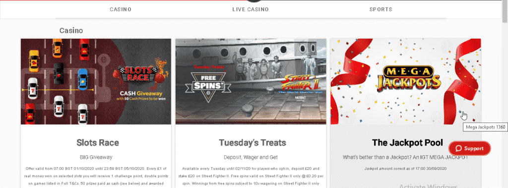 GentingBet promotions and welcome bonus
