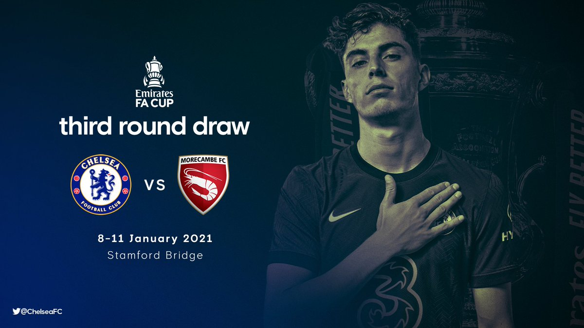 10/01/2021 Daily Predictions: England- FA Cup 2020-21, Chelsea Fc Vs. Morecambe