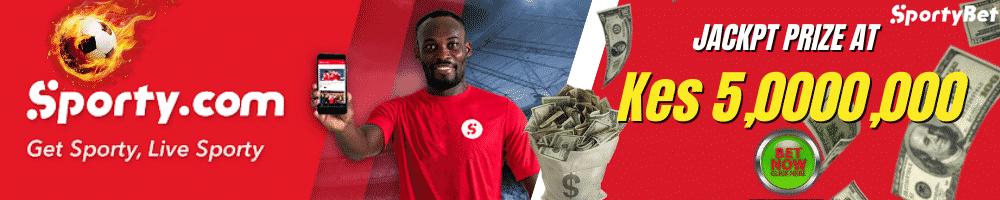 sportybet jackpot header