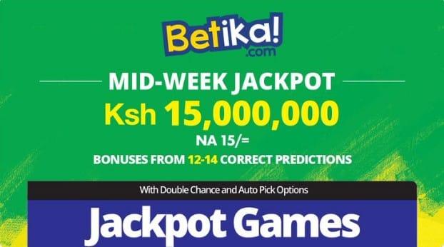 21th April Betika Midweek Jackpot Predictions