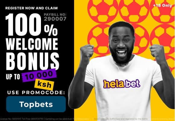 Helabet welcome offer banner