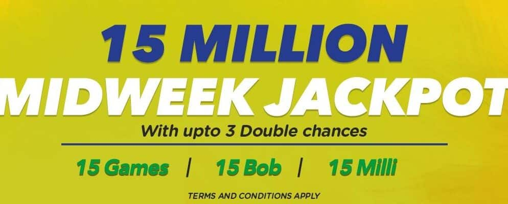 8th October: Betika Midweek Jackpot picks